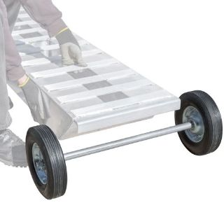"Find Heavy Duty Aluminum Loading Ramp Dolly Wheel Axle 20"" Wide 220 lb Capacity motorcycle in West Bend, Wisconsin, United States"