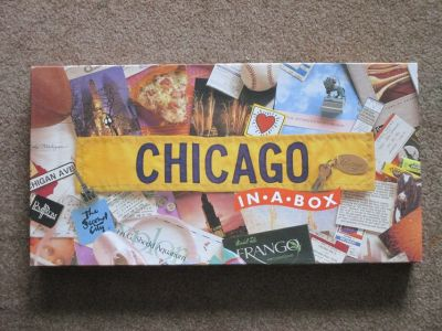 Chicago In A Box (Monopoly like board game)