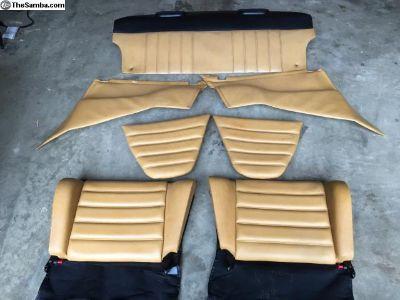 Porsche 911 Champagne Leather Interior