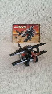 Lego System Set (592 with Instructions - Bi-Wing Baron Retired Rare, doesn't include box, 72 pieces