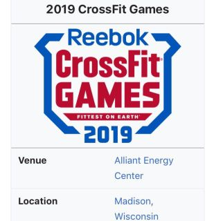 2 crossfit games tickets