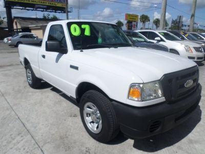 2007 Ford Ranger XL (White)