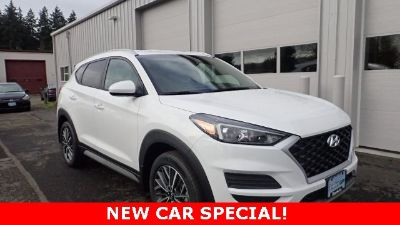 2019 Hyundai Tucson SEL (White Pearl)