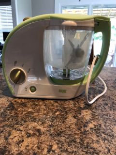 NUK baby food steamer/maker
