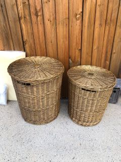 Storage baskets in great shape. Used to store toys.