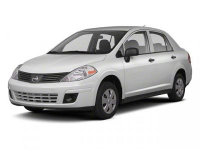 2010 Nissan Versa 1.8 SL (Red Brick Metallic)