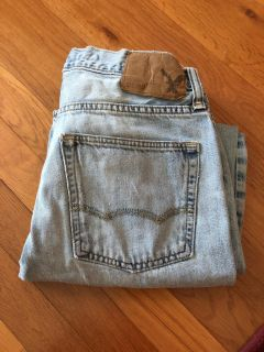 American Eagle 28x30. Work jeans. Have some spots.