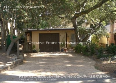 3 Bedroom House in Carmel-By-The-Sea