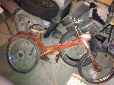 $120 1956 puch (sears allstate) moped parts