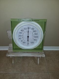 Outdoor SHABBY thermometer