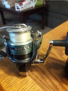 Shimano Sienna 4 Bearings 2500 Spinning Reel FD