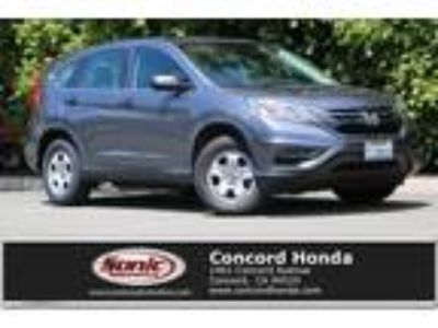 Used 2016 Honda CR-V Gray, 36.3K miles