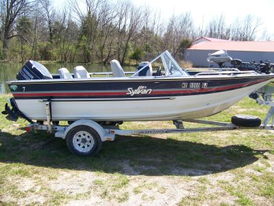 1987 Sylvan FISH & SKI 17FT Ski and Fish Boats West Plains, MO