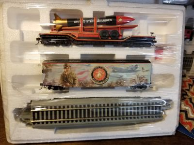 USMC Express Train Collection by Hawthorne Village