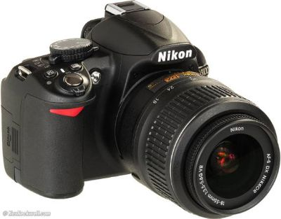 Nikon D3100 DSLR Camera and 18-55mm lens  Perfect for photographers