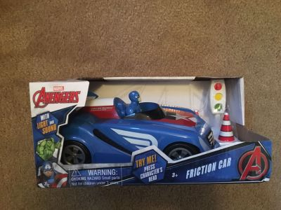 New in box Avengers Friction Car