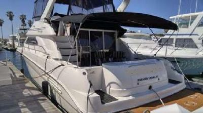 45' Sea Ray 450 Express Bridge 2000 For Sale
