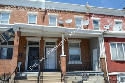 4-Bedroom Twin Home For Rent - 5609 Haverford Avenue - Available Now!