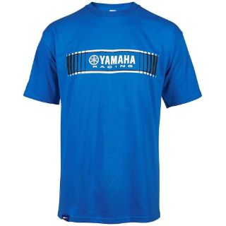 Buy YAMAHA 2X-LARGE BLUE MENS TRACKS SPEED BLOCK TEE CRP-16TYR-BL-2X motorcycle in Maumee, Ohio, United States, for US $24.99