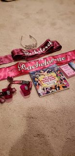 Variety of Bachelorette party supplies