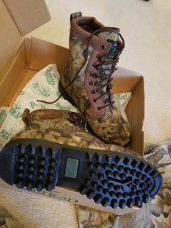 Camo Hunting Boots -NEW Size 10