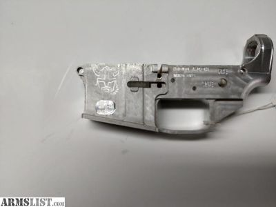 For Sale: Stripped Billet Lower Reciever