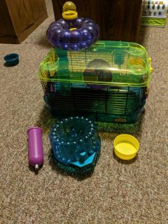 Critter Trail hamster/gerbil cage