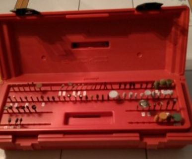 Dremel Tool Box Filled - 75+ Bits