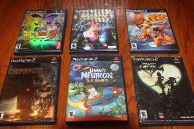 Choice of Twenty Six (26) PS2 Games Complete $10.00 Each