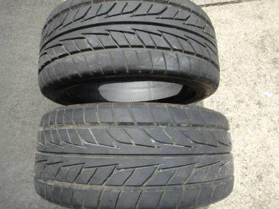 "Nitto 17"" hi-speed tires"