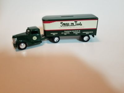 Snap-on coin bank