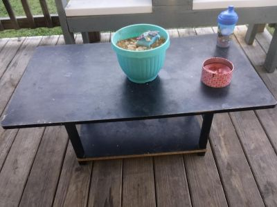 Black tv stand project table for sure!