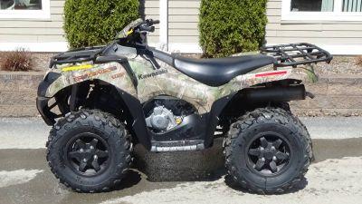 2019 Kawasaki Brute Force 750 4x4i EPS Camo ATV Sport Utility Bennington, VT