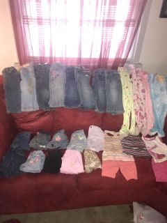 18-2T Girls Clothes
