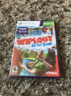 Xbox 360 Kinect Wipeout Game NEW