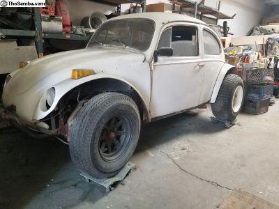 1966 VW Baja Bug Project Car