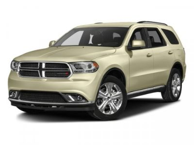 2016 Dodge Durango Crew (Brilliant Black Crystal Pearlcoat)