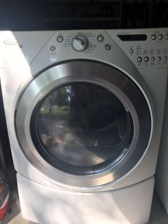 Whirlpool Duet Dryer - for parts (works but does not heat) - 83rd & K7, Lenexa - XP