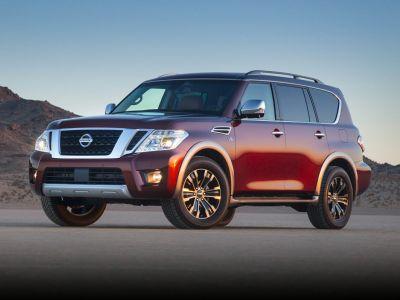 2018 Nissan Armada SL (Gun Metallic)