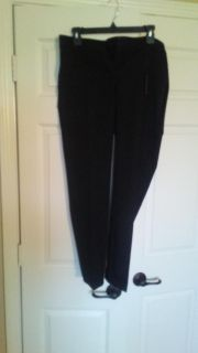 Express Ankle Mid Rise Stretch Pants
