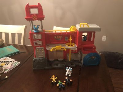 Rescuebot playset