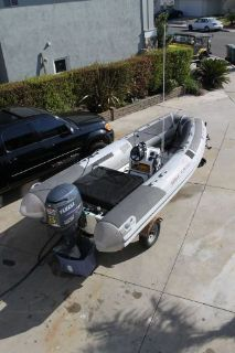 Purchase Inflatable Boat RIB 18ft Nautica set up forHookah diving motorcycle in Westminster, California, United States, for US $15,000.00