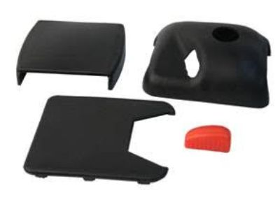 Seat Belt Receptacle Cover Kit, Left, 911/912/914