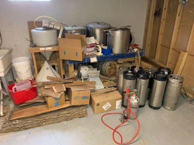 Full electric 15G home brew system!
