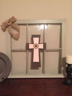 Old wood window redone for decoration