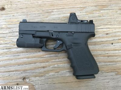 For Sale: Glock 19 gen 4 MOS RMR