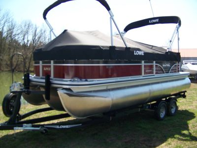 2018 Lowe SS210 WT TRIPLE LOG POWERED BY MERCURY 115 PRO XS CT Pontoons Boats West Plains, MO