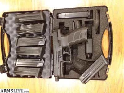 For Sale: HK VP9 Tactical with 8 Magazines
