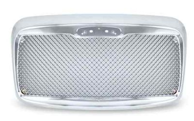 Freightliner Columbia Chrome Diamond Mesh Grill 2000-2008