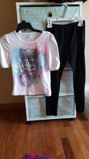Girls size 7/8 outfit